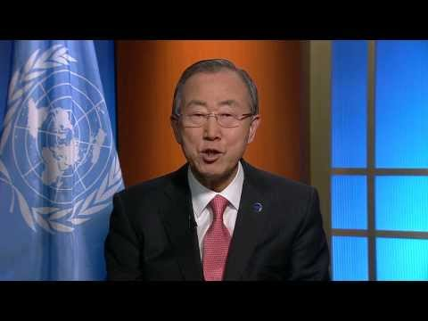 Ban Ki-moon, World Radio Day 2014
