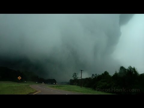 MASSIVE TORNADO - Louisville Mississippi - April 28, 2014