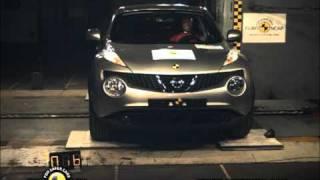Nissan Juke kaza testi - Euro NCAP 2011