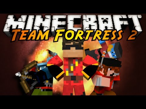 Minecraft Mini-Game : Team Fortress 2!,