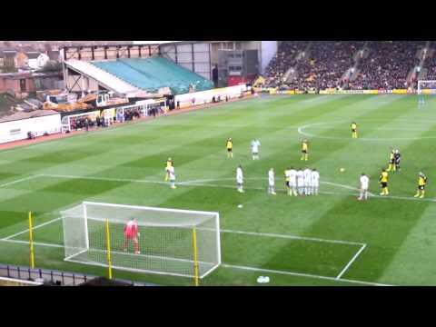 Lewis Mcgugan Free Kick Watford Lewis Mcgugan Free Kick v