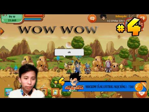 Chú Bé Rồng Online TV   Livetroll Gọi Rồng 1 Sao - Đi Mua Skill Cùng Nhockid98 #4