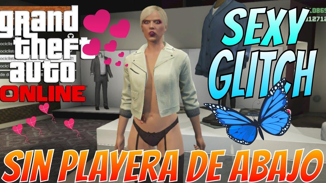 Gta 5 sexy glitch sin playera de abajo personaje de for Cuarto personaje gta 5