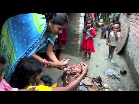 Polio Immunization in Bihar, India - YouTube.flv
