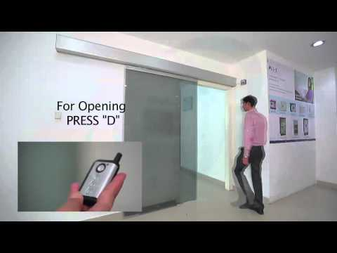 <span>Automatic Sliding Door System</span>