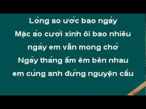 Em Mo Lam Co Dau Karaoke - Thùy Dung - CaoCuongPro
