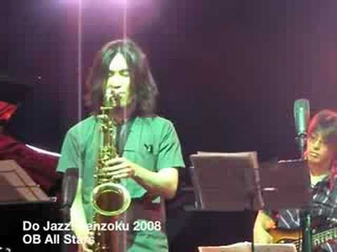 Do jazz Senzoku 2008 OB All Stars 1