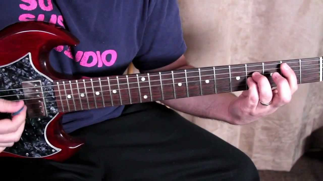 how to play wild thing on electric guitar
