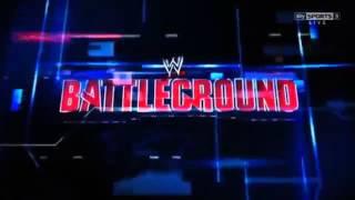 WWE Battleground 2013 Pyro