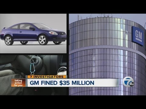 General Motors fined $35 million