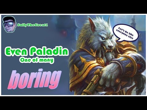 Hearthstone Witchwood | Even Paladin Gameplay | Hearthstone Decks | Standard Constructed