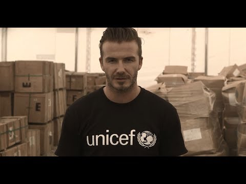 Join David Beckham: Champion the #childrenofsyria (30 sec)