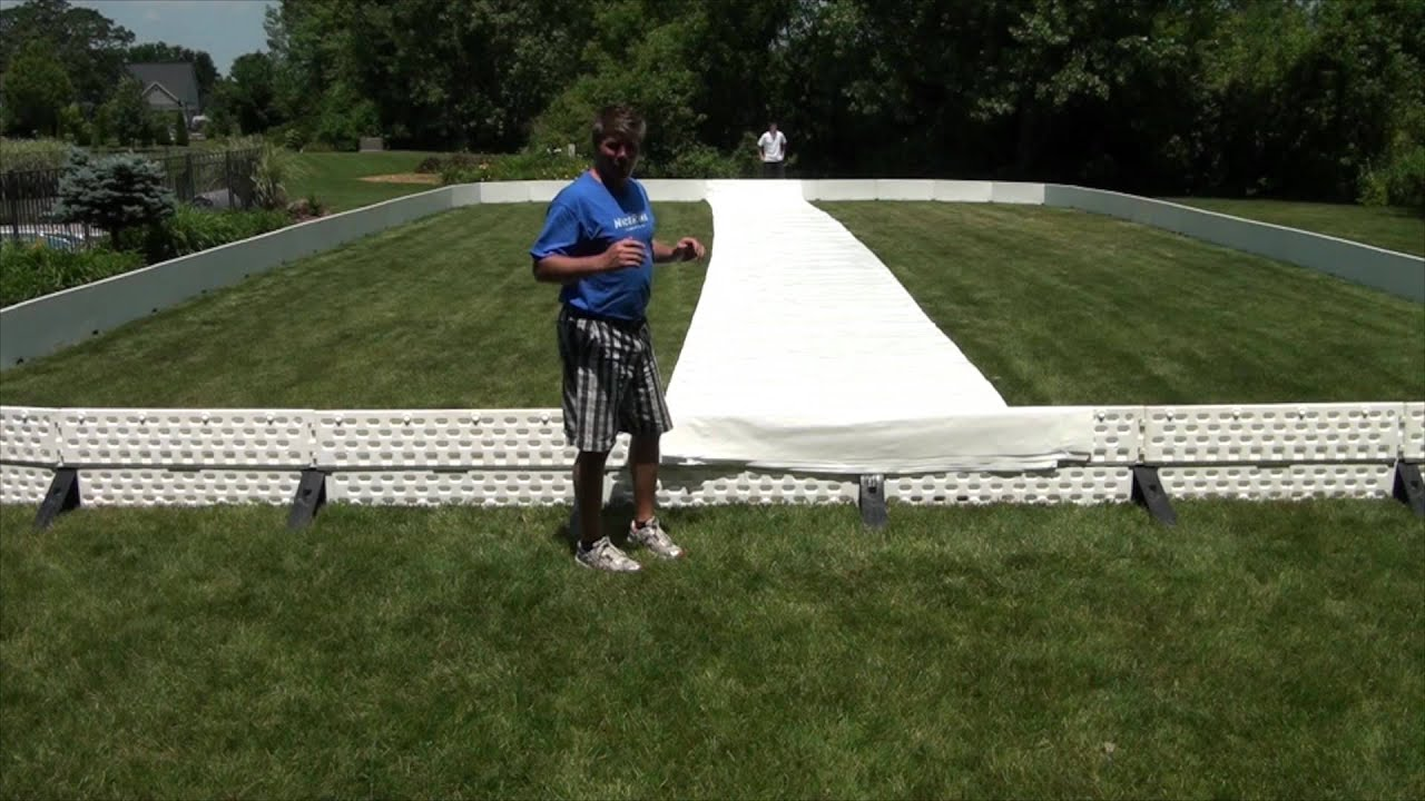 how to roll out and unfold your liner for your backyard