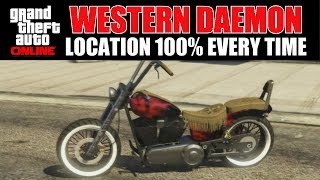 GTA Online Where To Find A Western Daemon 100% Every