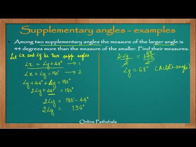 Ch05_07 Solved Examples on Supplementary Angles - Part 2 CBSE MATHS