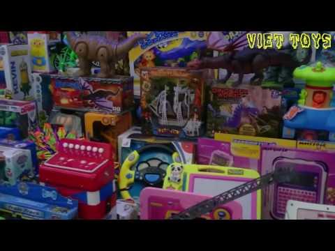 Đồ Chơi Rồng Lửa 2 Đầu Đại Chiến Khủng Long Ăn Cỏ Great Dinosour toys war 02 Viet Toys