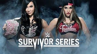 AJ Lee vs. Nikki Bella - Survivor Series - WWE 2K15 Simulation
