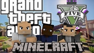 Minecraft 1.8/1.7.10/1.7.2 Mapa Grand Theft Auto V (GTA5