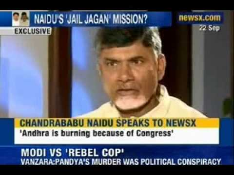 NewsX: TDP President Chandrababu Naidu scuttling jagan's release from jail?