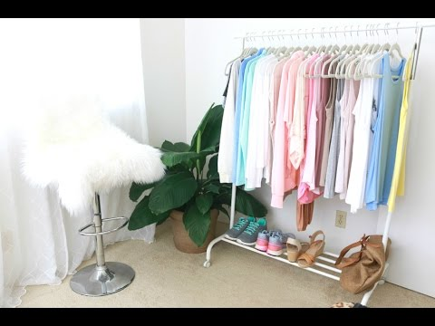 Capsule Wardrobe 101 | Create A Simple Wardrobe With Color