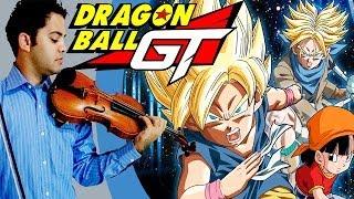 DRAGON BALL GT Dan Dan Kokoro Hikariteku (Violin