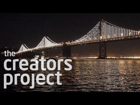 25,000 LEDs Illuminate The San Francisco Bay Bridge [Trailer]