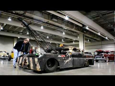 Rat Rod Tow Truck (Wrecked Wrecker)