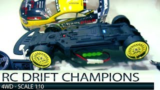 Rc Drift NQD 4WD Champions NISSAN GT-R With Turbo Double Speed