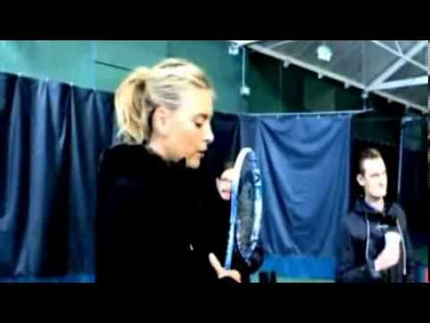 Maria Sharapova Sochi Olympic shoot - behind the scenes