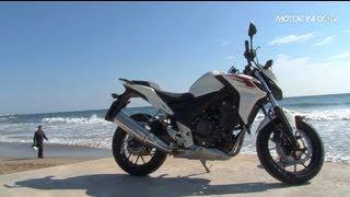 Essai Honda CB 500 F 2013