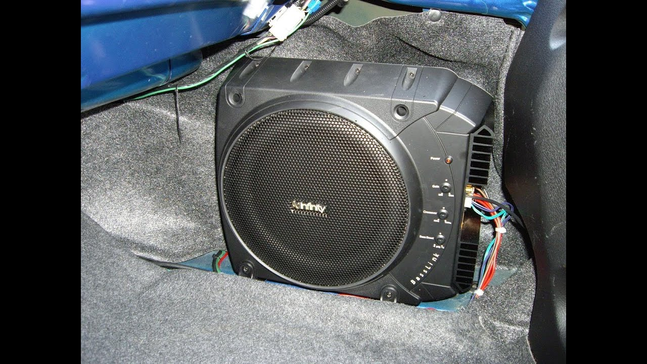 Infinity Basslink All In One Subwoofer System Youtube
