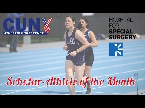 May 2014 CUNYAC/HSS Scholar-Athlete of the Month