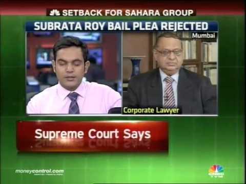 Supreme Court rejects Subrata Roy's bail plea -  Part 1