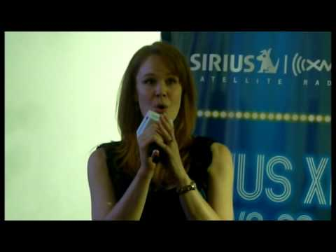 Kate Baldwin singing The World Is In My Arms @ Sirius XM Live on Bway