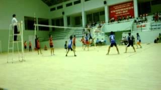Bóng chuyền Khoa KHXH&NV (2-0) Sư Phạm - Đại Học Cần Thơ 2014