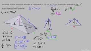 Piramida – pravokotnik