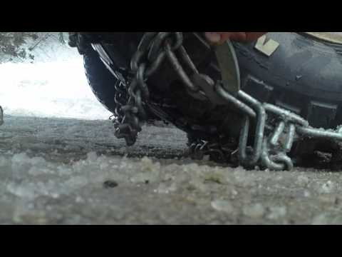0 how to put on tire chains