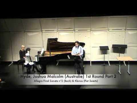 Hyde, Joshua Malcolm (Australie) 1st Round Part 2