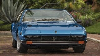 1972 Lamborghini Jarama 400GT, Classic Supercar at Cars and Coffee, Scottsdale AZ.