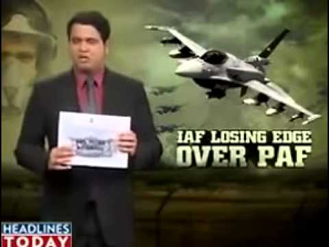 Indian Media Is Afraid of Pakistan Air Force
