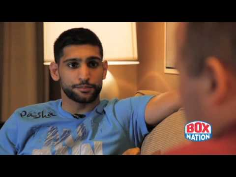 Amir Khan Talks to BoxNation Before Collazo - 29th April 2014