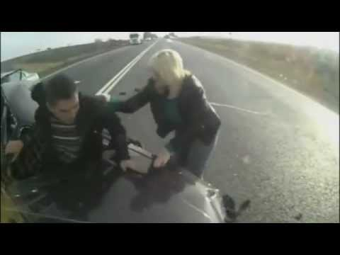 The Luckiest Man Survives Insane Crash