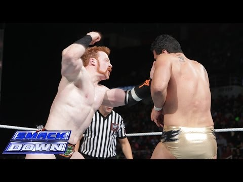 Sheamus vs. Alberto Del Rio: SmackDown, March 7, 2014