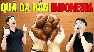 CrisDevilGamer ĂN THỬ QUẢ DA RẮN INDONESIA | Tối nay ăn gì?