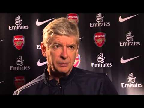Exclusive Wenger Interview Before Newcastle United Game  28/04/2014