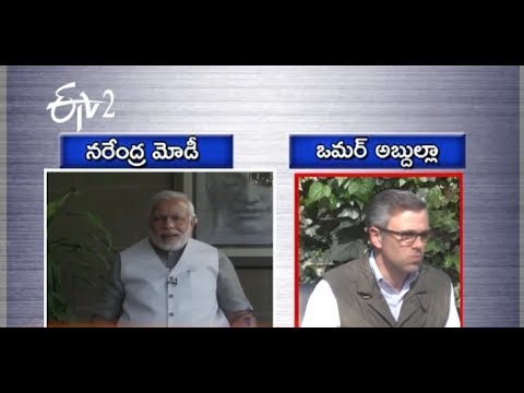 War Of Words Between Narendra Modi and Omar Abdullah