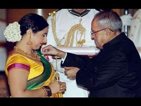 Actors Vidya Balan, Kamal Haasan receive their Padma honours