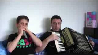 The Old Rugged Cross (Piano Accordion & Harmonica)