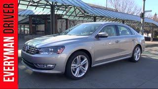 2014 Volkswagen Passat First Review On Everyman Driver
