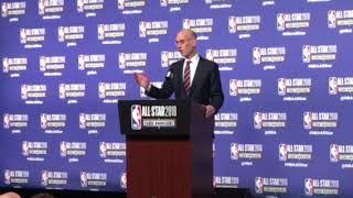 Adam Silver Comisionado de NBA